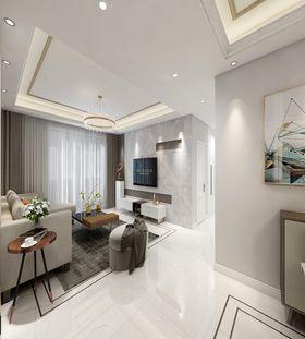 140平米四室兩廳現代簡約風格客廳圖
