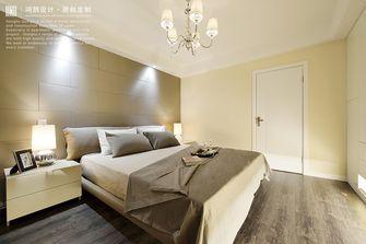 120平米复式现代简约风格卧室装修图片大全