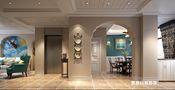140平米四室两厅地中海风格玄关效果图