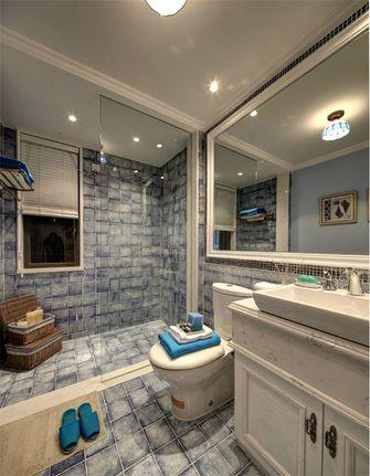 120平米三室三厅田园风格卫生间装修效果图