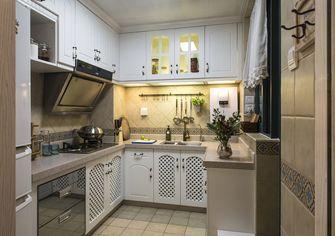 90平米三室一厅地中海风格厨房效果图