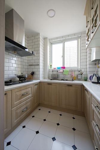 70平米一室两厅地中海风格厨房欣赏图