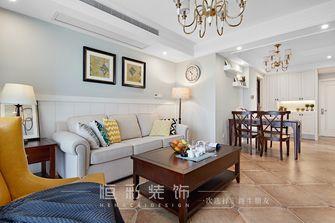 10-15万80平米三室两厅北欧风格客厅图片