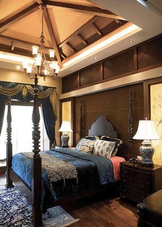 140平米四东南亚风格卧室欣赏图