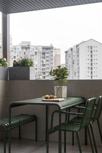 100平米三室两厅法式风格阳台装修图片大全