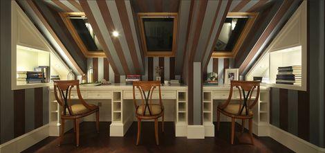 豪华型140平米四室三厅新古典风格影音室设计图