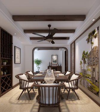 80平米三室两厅东南亚风格餐厅图片