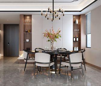 140平米三室两厅中式风格餐厅装修效果图