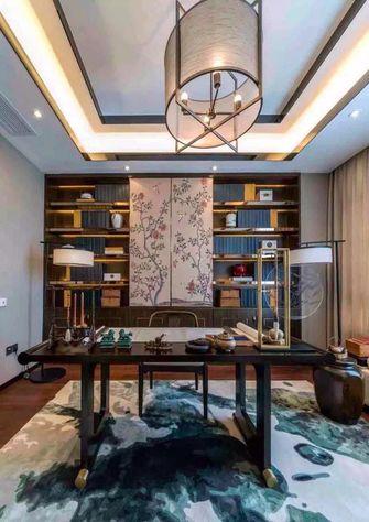 120平米一室一厅中式风格书房装修图片大全