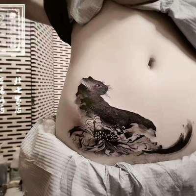 鬼王美图纹身图