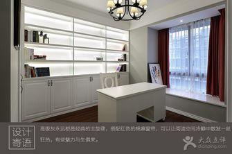 3-5万80平米公寓法式风格餐厅欣赏图