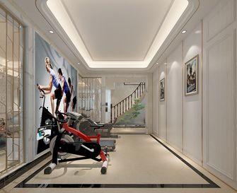140平米复式欧式风格健身室图片大全