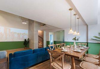 70平米三室三厅东南亚风格客厅装修效果图
