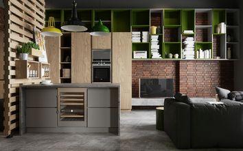 40平米小户型英伦风格厨房设计图
