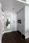 140平米三室一厅美式风格玄关图片