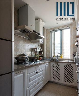 80平米一居室新古典风格厨房欣赏图