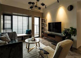 80平米中式风格客厅图片