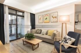 经济型90平米三室一厅混搭风格客厅图片