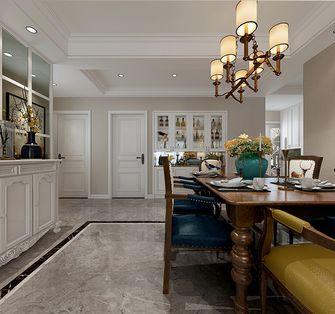 140平米三室三厅新古典风格餐厅效果图