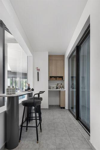 90平米现代简约风格阳台装修效果图