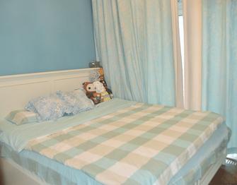 60平米一居室地中海风格卧室效果图