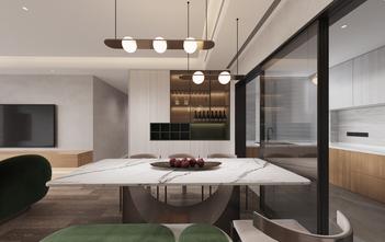 140平米复式北欧风格餐厅图