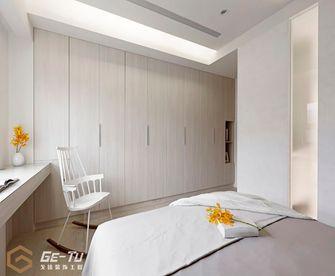 140平米三室一厅日式风格卧室图片