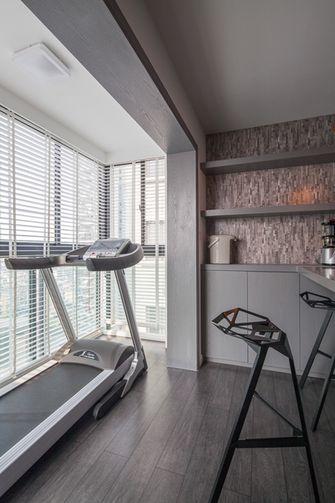 富裕型90平米北欧风格健身室图