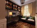 140平米四室两厅美式风格书房图片
