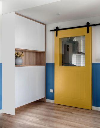 经济型70平米三室两厅北欧风格储藏室装修案例