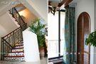 豪华型140平米别墅混搭风格楼梯图片