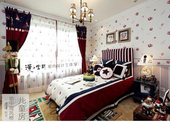 5-10万110平米三室两厅地中海风格儿童房图