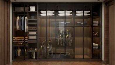 140平米四室两厅中式风格衣帽间设计图