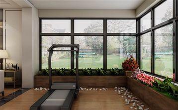 140平米三室一厅现代简约风格健身室欣赏图