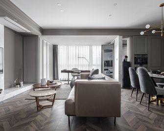 60平米公寓混搭风格客厅装修案例