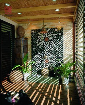 经济型110平米三室两厅东南亚风格阳台图片大全