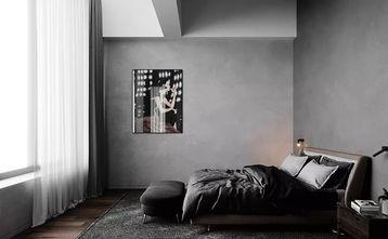 140平米复式现代简约风格卧室图片大全