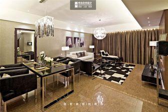 140平米复式现代简约风格客厅沙发装修案例