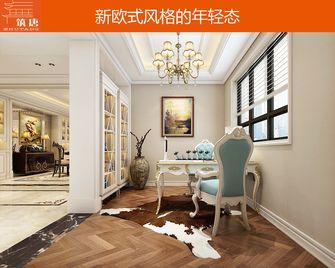 80平米公寓欧式风格书房图片大全