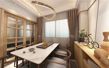130平米四室两厅中式风格餐厅设计图