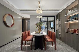 140平米三室两厅混搭风格餐厅装修案例