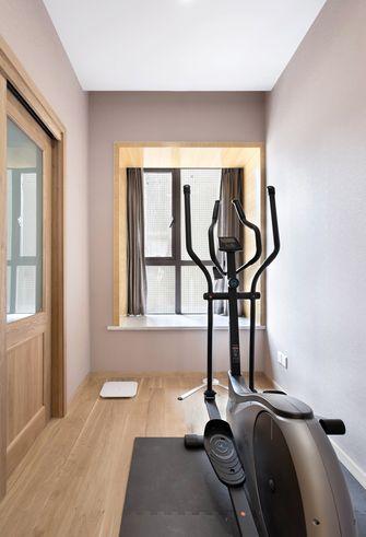 130平米三室两厅日式风格健身室装修案例