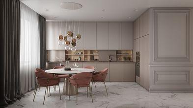 80平米公寓法式风格餐厅欣赏图