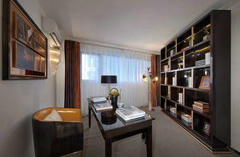 130平米三室两厅宜家风格书房图