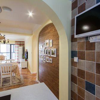 80平米田园风格走廊设计图