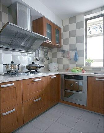 70平米一室两厅田园风格厨房装修效果图