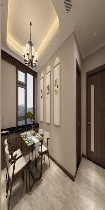 120平米四室两厅现代简约风格餐厅背景墙效果图