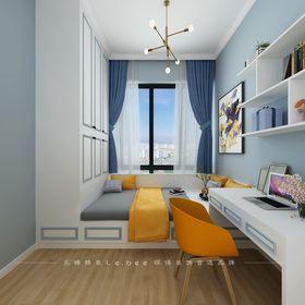 130平米四室兩廳現代簡約風格臥室設計圖