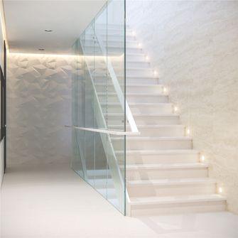 10-15万140平米三室两厅现代简约风格楼梯装修效果图