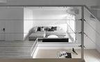140平米三室一厅现代简约风格阁楼欣赏图